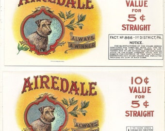 41 different 1930s plus TOBACCO and CIGAR LABELS