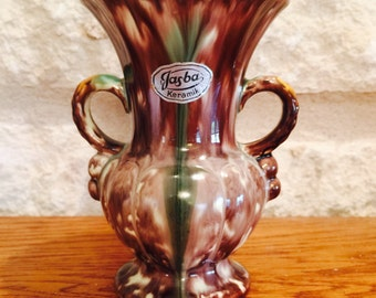 West German Vase by Jasba Pottery circa 1950's