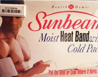 Older Model but Never Used Sunbeam Moist Heat Band with Cold Pack