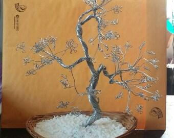Handmade Wire Tree Of Life Sculpture - Wire Art