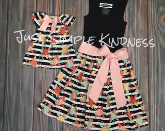 Mommy and Me Dress, Mommy and Me Outfit, Mother Daughter Matching Dress, Mommy and Me, Mother Daughter Dress, Girls Summer Dress, Matching