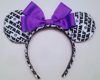 Star Wars Minnie Ears, Star Wars Ears, Custom Ears