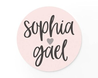 Custom Stickers - Wedding Stickers - Wedding Names - Wedding Favors - Custom Logo Stickers - Adhesive Labels
