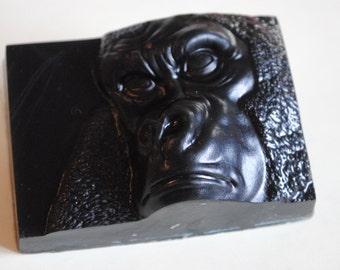 1 x jabón de jabón divertido gorila