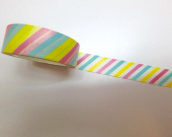 Rainbow Stripes washi tape