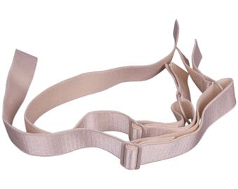 SALE Beige Bra Straps - 3/4 inch or 18mm - 1 Pair (FP18BN-2)