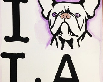 I Frenchbulldog Los Angeles