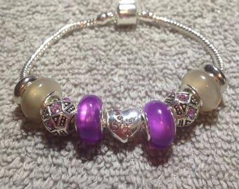 European Charm Bracelet,Jewelry