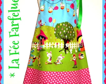 Dress 'Easter' limited edition of 2 to 10 years