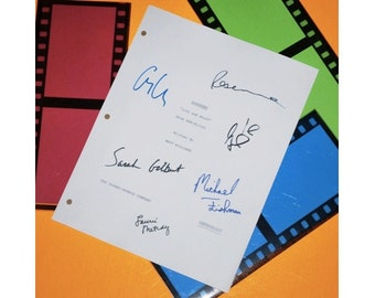 "Roseanne ""Life and Stuff"" Script Autographed: Roseanne Barr, John Goodman, Sara Gilbert, George Clooney, Laurie Metcalf, Alicia Goranson"