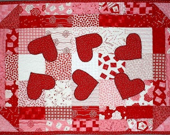 Dancing Hearts Quilt Pattern