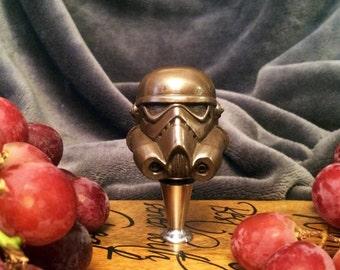 Wine Stoppers, Star Wars, Stormtrooper,bottle stopper, cork, wine cork, geek wine gift, bottle stopper, housewarming, gifts for wine lovers