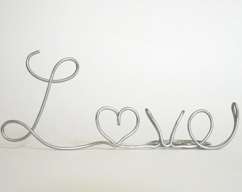 Love Heart Cake Topper for Valentine's Day, Weddings, Anniversaries - Suspended Moments