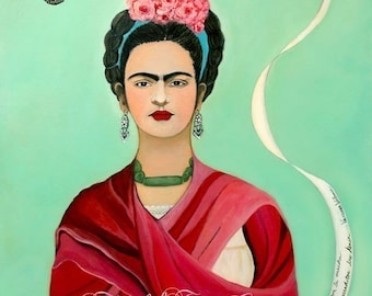 Frida Kahlo and the Butterfly
