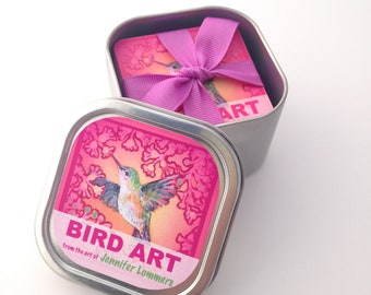 BIRD ART in a Box - Matching Game - PRE order