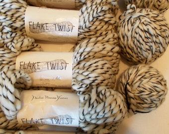 Vintage Yarn, Kitting Yarn, Fake Twist Yarn, Pauline Denham Yarn, Craft Yarn, 100% Wool Yarn, 6 plus Skeins