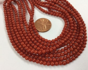 Natural Coral Rounds Smooth