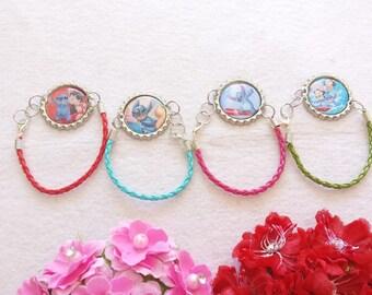 10 Lilo and Stitch Bracelets Party Favors