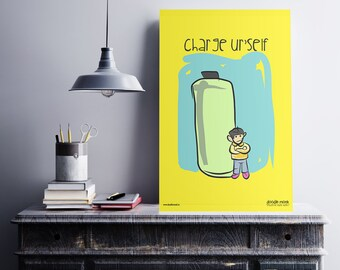 Charge Yourself - Poster