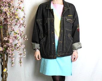 Vintage 90s oversize accomplices denim jacket