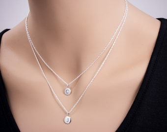 collection pendant necklace chain cleopatra product logo white double jewellery crystal
