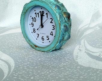 Beach Clock Etsy