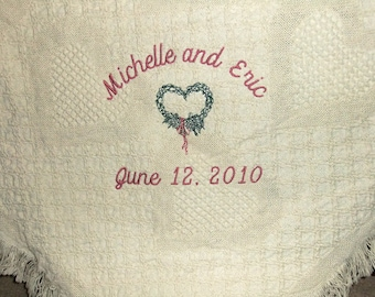 2 Year Wedding Anniversary Gift for Her - Cotton Wedding Anniversary Gift for Wife - 2nd Year Wedding Anniversary Gift by Li'l Inspirations