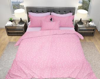 Duvet cover set with pillow case, Galaxy, 100% cotton