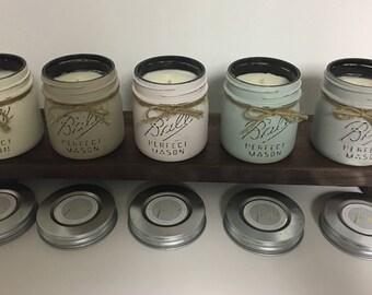 Vintage Mason Jar Soy Candle