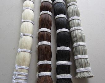1/8  Pound  HORSE HAIR BUNDLE Crafts Pow  Wow  Regalia choose color