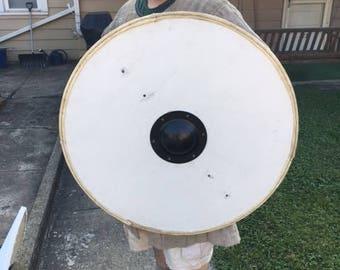Viking/Ango-Saxon Round Shield - 1/2 Thick