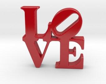 Love Sculpture porcelain