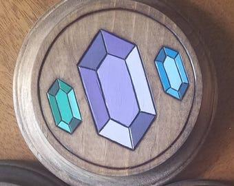 Legend of Zelda Rupee Waterproof Coaster