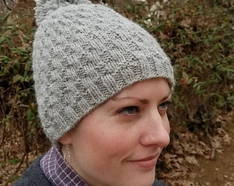 Aiken Hat PDF Knitting Pattern by Vint Hill Knits