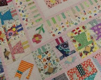 Girl Next Door Quilt Pattern by Louise Papas for Jen Kingwell Designs