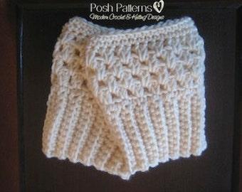 Crochet Pattern - Boot Cuffs - Easy Crochet Boot Cuffs Pattern - Crochet PATTERNS - Crochet Boot Cuffs Covers - Ladies Teen Girls