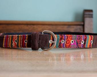 Handmade Peruvian Alpaca belt