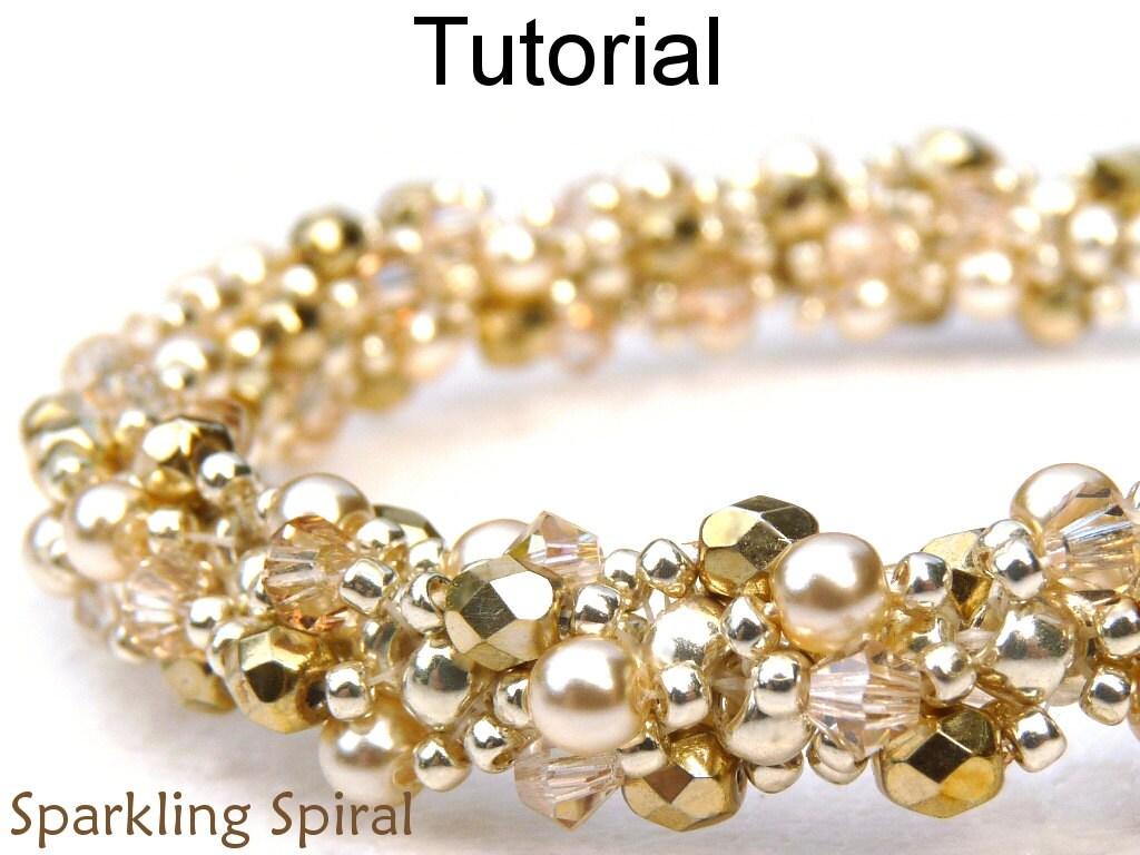 Spiral Stitch Beading Patterns Jewelry Making Tutorials