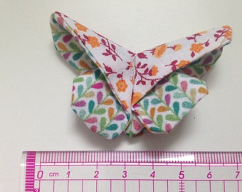 Butterfly origami liberty tone Orange and colorful foliage