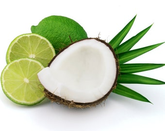Coconut  Lime Verbena Type Fragrance Oil for candles and soap making