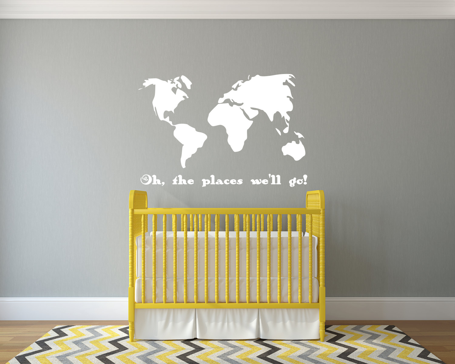 Oh the places well go decal, oh the places youll go, oh the places ...