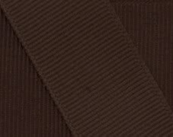 "BROWN - 3"" Grosgrain Ribbon  -100% Polyester -50 Yards OFFRAY - Great for Cheer & Hair Bows!"
