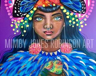 Robyn- Signed Art Print