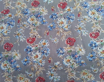 Vintage Liberty of London - Tana Lawn 100% Cotton Fabric