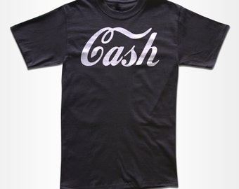 CASH T Shirt  - Graphic Tees for Men, Women & Children - Short Sleeve and Long Sleeve Available