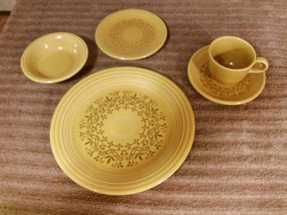 & 5 Piece Place Setting Casualstone Coventry