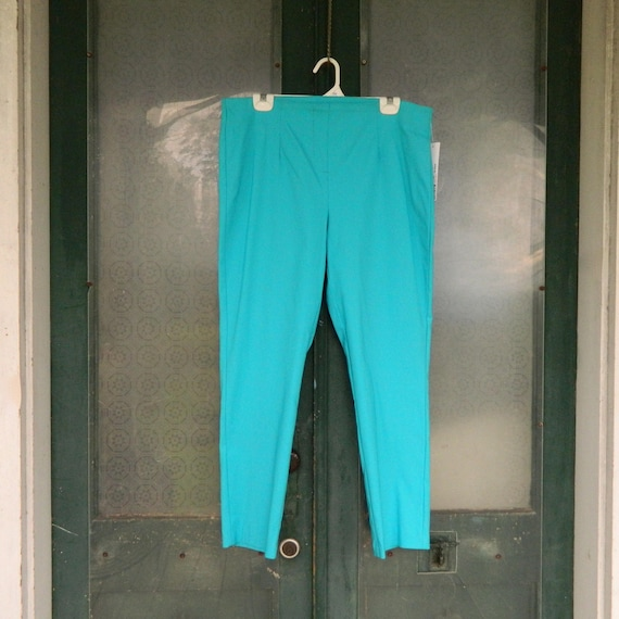 SALE - Tribal Flat Front Pants Rayon/Nylon/Spandex  NWT