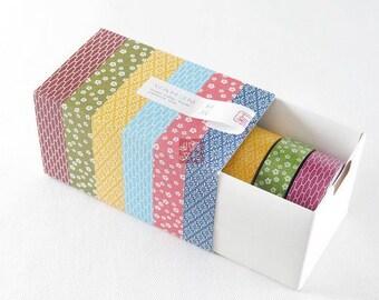 mt Washi Tape Samples (6 designs) MT060003