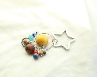 Solar System Keychain