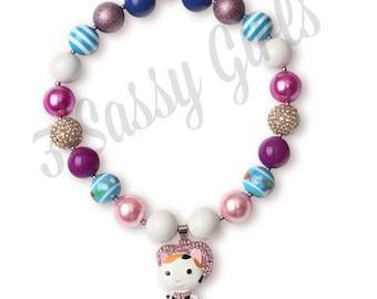 Little DIVA Sheriff Callie Bubble Gum Necklace